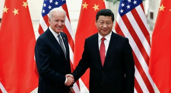 Presidentes Joe Biden e Xi Jinping