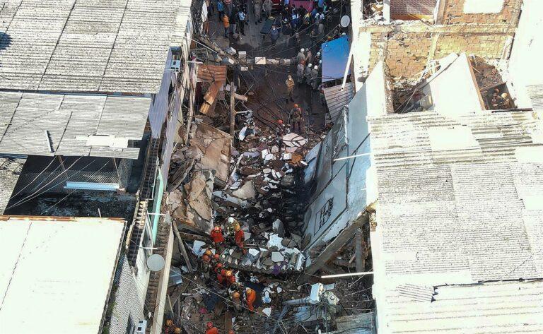 Desabamento em Rio das Pedras deixou uma pessoa morta
