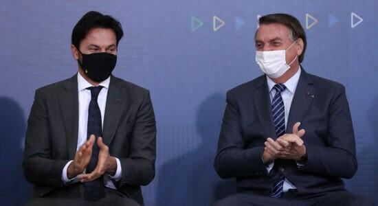 Fabio Faria e Bolsonaro