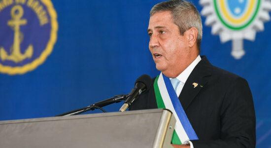 Ministro da Defesa general Walter Braga Netto