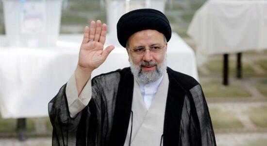 Ebrahim Raisi foi o vencedor das eleições no Irã