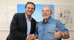 Eduardo Paes e Lula