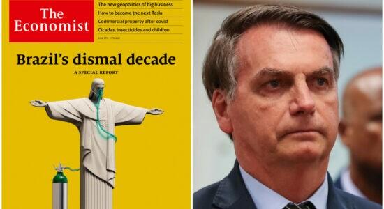Governo rebateu artigo da Economist contra Bolsonaro