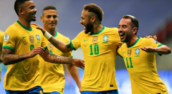 Jogo do Brasil na Copa América trouxe bons números ao SBT