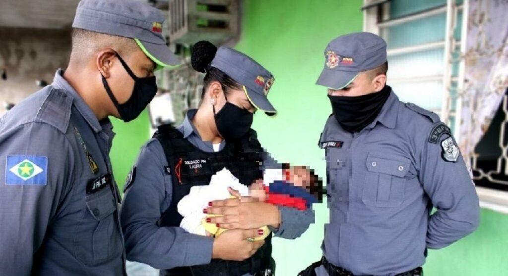 Polícia Militar resgata bebê em boca de fumo