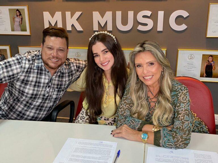 MK Network de gestao de YouTube assinou com canal de Eurice Diniz