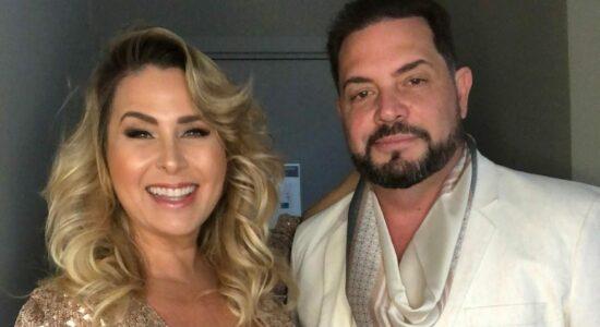 Andréa Sorvetão e o marido, Conrado