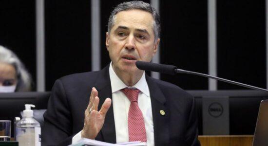 Ministro Luís Roberto Barroso na Comissão Geral para tratar da Reforma Eleitoral