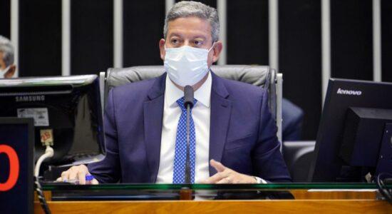 Presidente da Câmara, deputado Arthur Lira