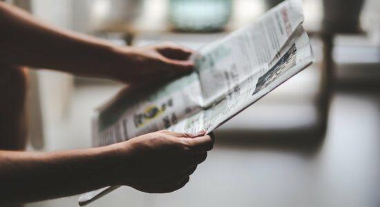 Circulação impressa de jornais sofreu queda de 12% nos 5 primeiros meses de 2021