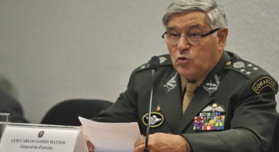 Presidente do Superior Tribunal Militar general Luís Carlos Gomes Mattos