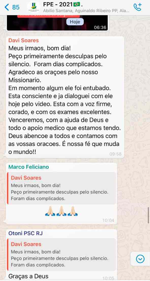 Filho nega intubação de pastor R.R. Soares, internado com Covid