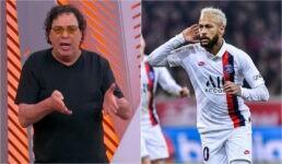 Walter Casagrande e Neymar Jr