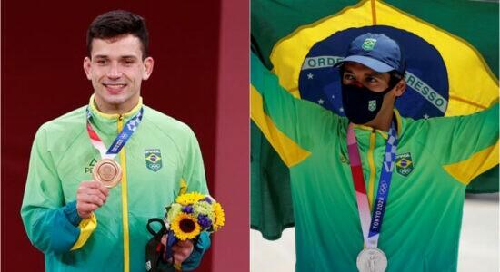 Judô e skate garantem primeiras medalhas ao Brasil em Tóquio