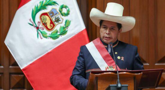 posse de pedro castillo, presidente do Peru