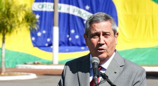 Ministro da Defesa, general Walter Braga Netto