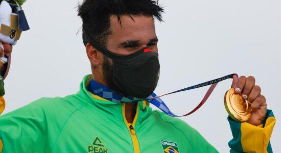 Ítalo Ferreira ganhou o primeiro ouro do Brasil em Tóquio