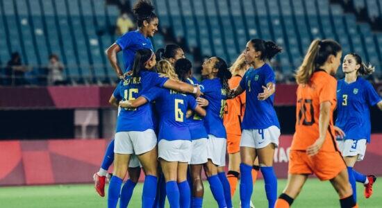 Seleção brasileira empata em 3 a 3 com a Holanda