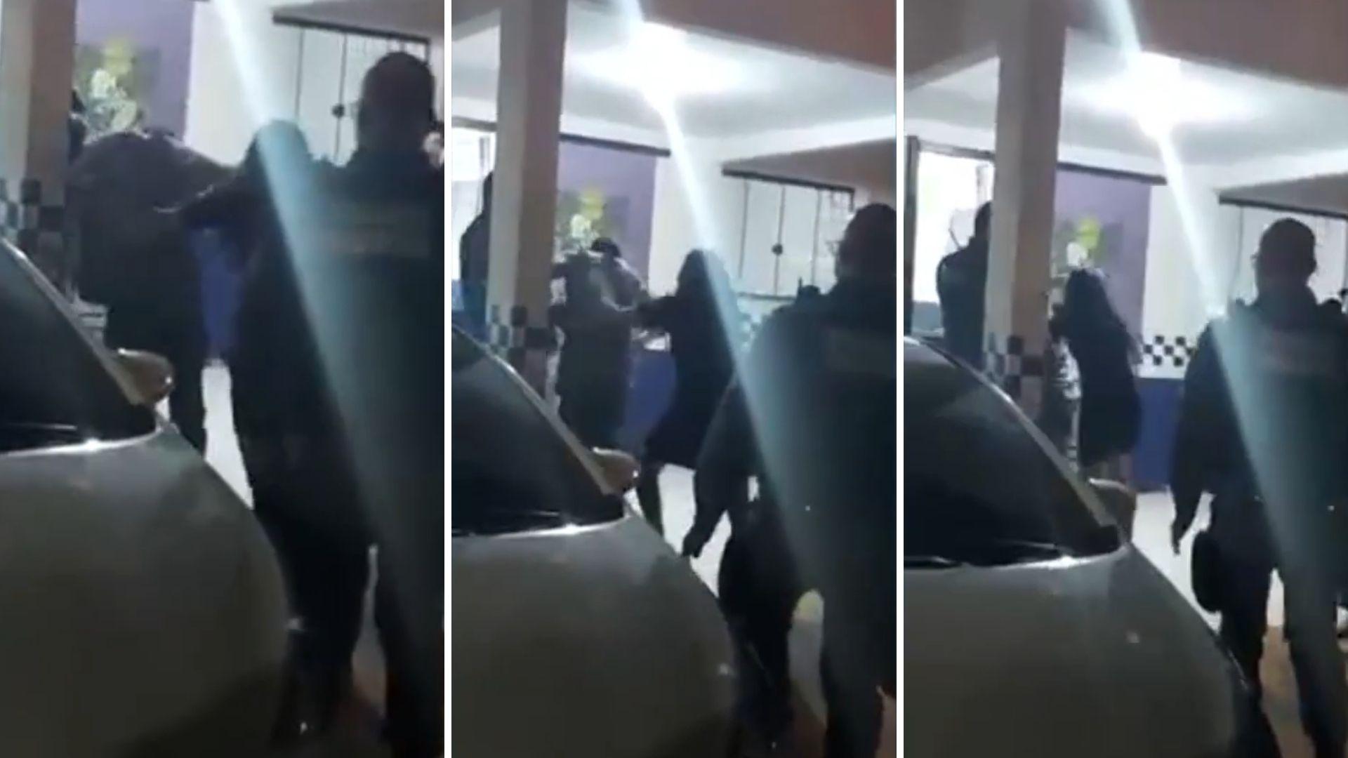 Sequestrador de motorista é preso e leva surra da mãe. Vídeo!