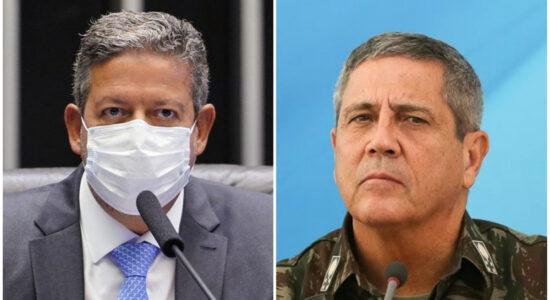 Lira e Braga Netto negaram ameaça à eleição