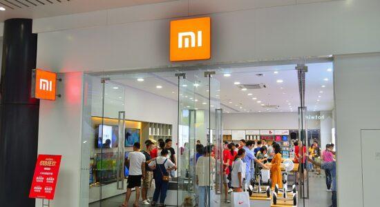 Loja da Xiaomi localizada na China