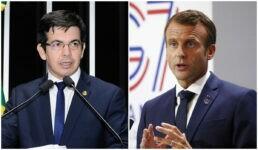 Randolfe receberá comenda concedida por Macron