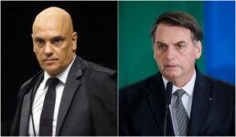 Ministro Alexandre de Moraes determinou que a PF tome o depoimento de Jair Bolsonaro em até 30 dias