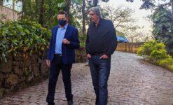 Roberto Cabrini e Sérgio Reis