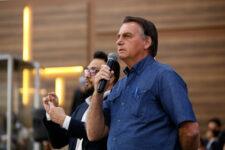 Presidente Jair Bolsonaro durante evento em Goiânia