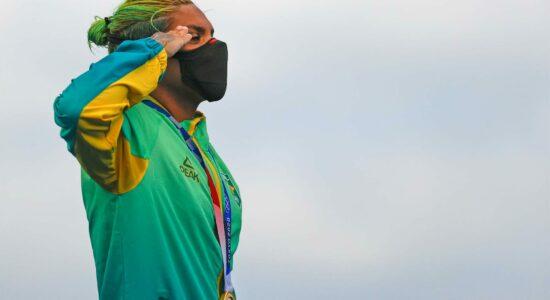 Ana Marcela Cunha foi medalha de ouro na Maratona Aquática