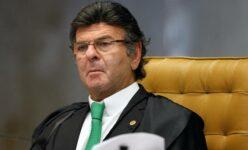 Presidente do Supremo Tribunal Federal (STF), Luiz Fux