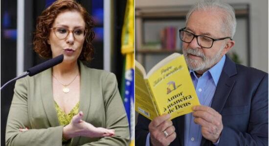 Deputada Carla Zambelli criticou o ex-presidente Lula