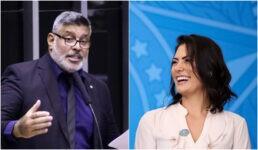 Deputado Alexandre Frota rebateu a ironia feita pela primeira-dama