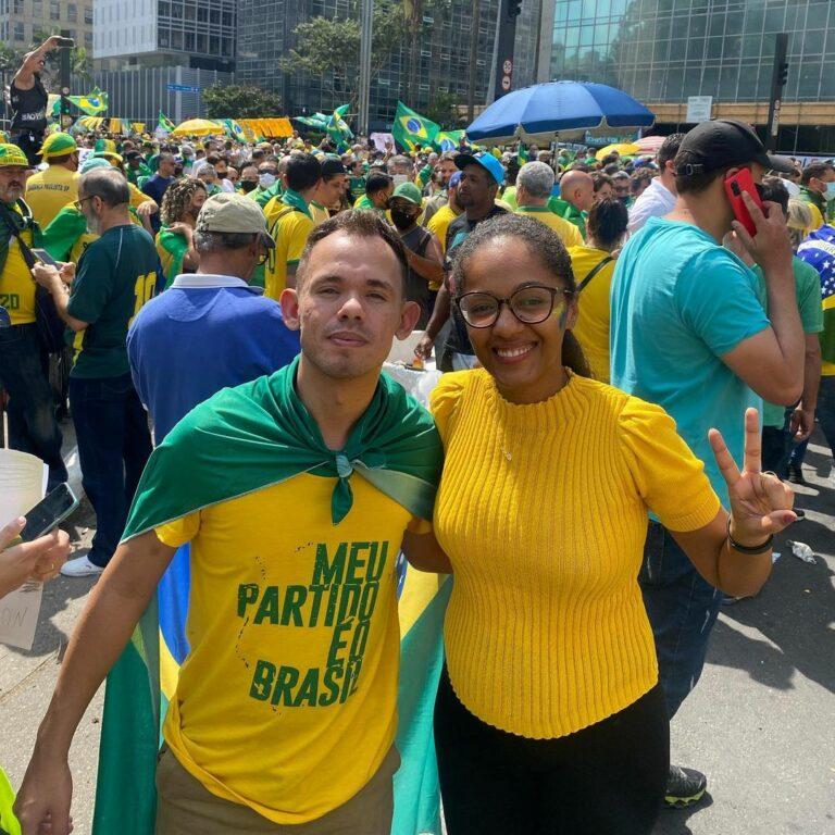 Vereadores Anderson Campos e Sonaira Fernandes