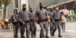 Policiais de São Paulo