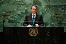 Presidente Jair Bolsonaro na ONU