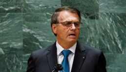 Presidente Jair Bolsonaro discursa na Assembleia-Geral da ONU