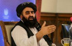 Ministro das Relações Exteriores do regime Talibã no Afeganistão, Amir Khan Muttaqi