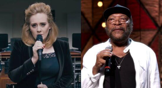 Adele e Martinho da Vila