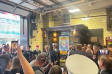 Trump visitou policiais de Nova Iorque