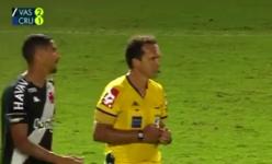 Emissora errou o placar da partida entre Vasco e Cruzeiro
