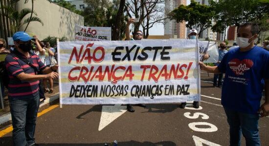 Manifestação em Londrina