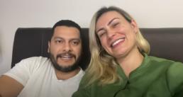 Andressa Urach e o marido, Thiago Lopes