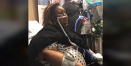 Cantora louva enquanto aguarda transplante