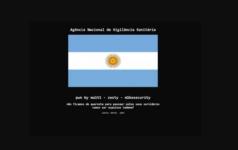 Hackers invadem site da Anvisa e expõem bandeira argentina