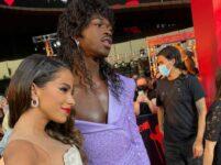 Anitta e o rapper Lil Nas X
