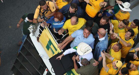 Presidente Jair Bolsonaro criticou o ministro Alexandre de Moraes