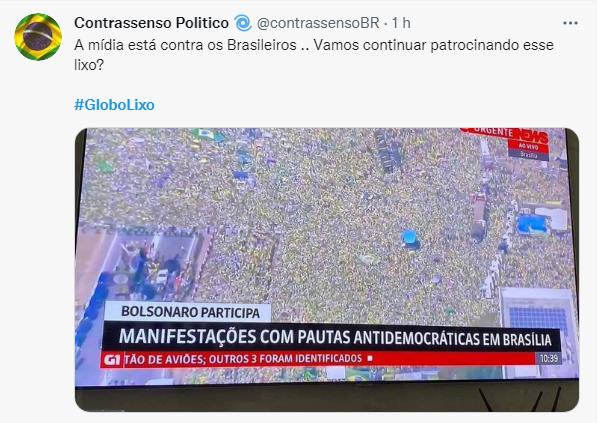 Cobertura da Globo News revolta os internautas