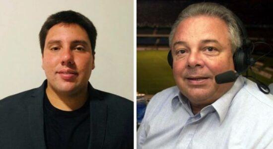 Lucas do Valle e o avô, Luciano do Valle