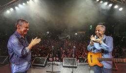 Chico Buarque e Gilberto Gil já fizeram diversos shows em prol do ex-presidente Luiz Inácio Lula da Silva